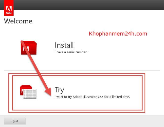 Download Adobe Illustrator CS6 Full-Hướng dẫn cài đặt Illustrator CS6 5