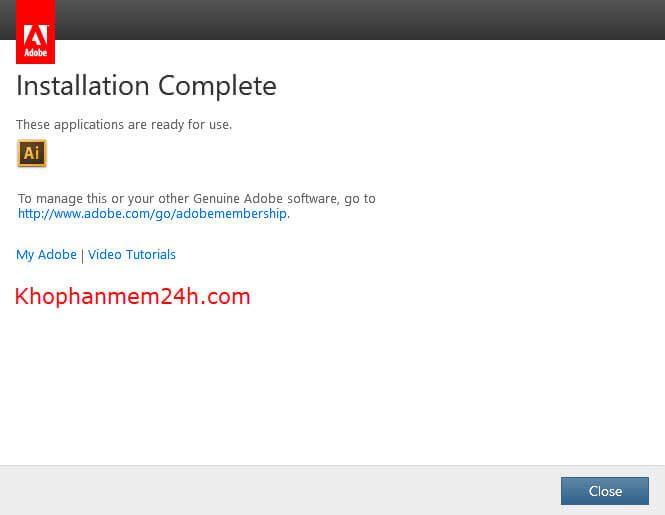 Download Adobe Illustrator CS6 Full-Hướng dẫn cài đặt Illustrator CS6 8