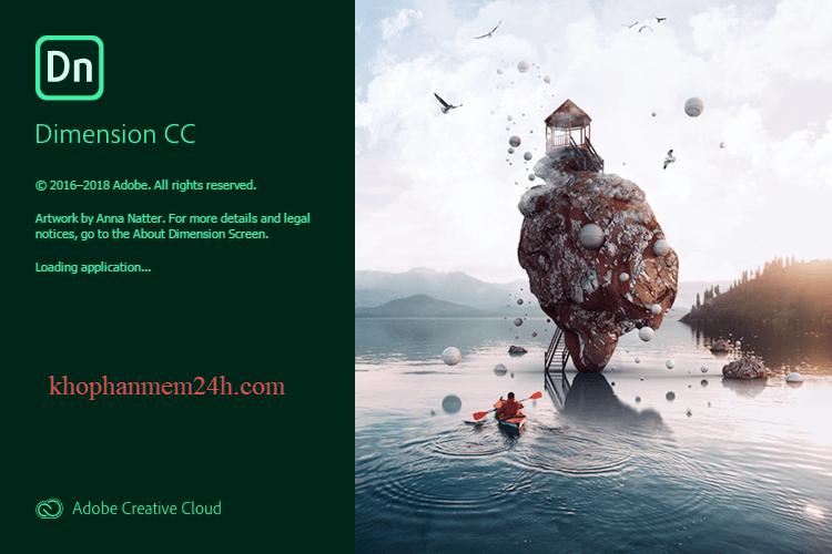 Download Adobe Dimension CC 2019 - Phần mềm thiết kế 2D 3D tốt nhất 1