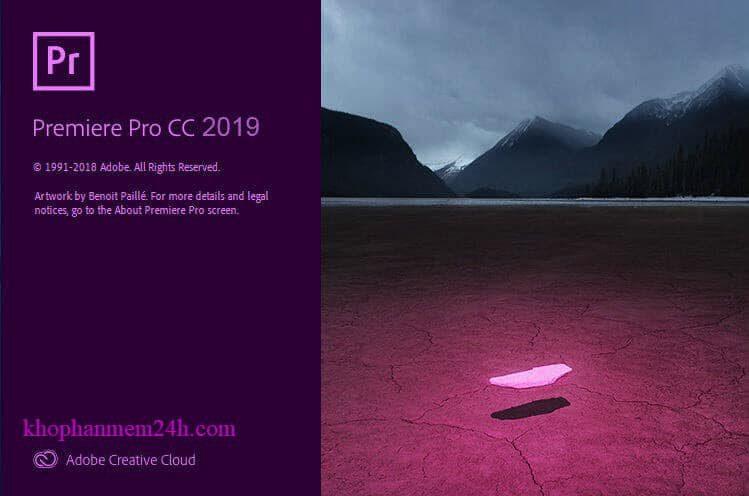 Tải Adobe Premiere Pro CC 2019 và Cách cài Premiere CC 2019 Full Active 1