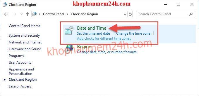 Hướng dẫn cách chỉnh giờ trên máy tính 4