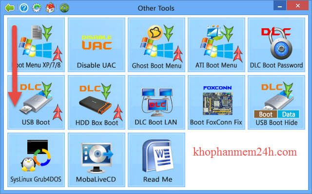 Download DLC Boot 2019 V3 6-Tạo usb boot cứu hộ máy tính 1 click