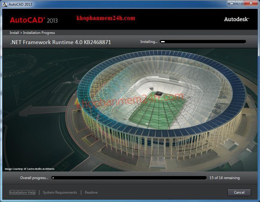 Tải Autocad 2013 full (32bit & 64bit) & cách cài autocad 2013 10