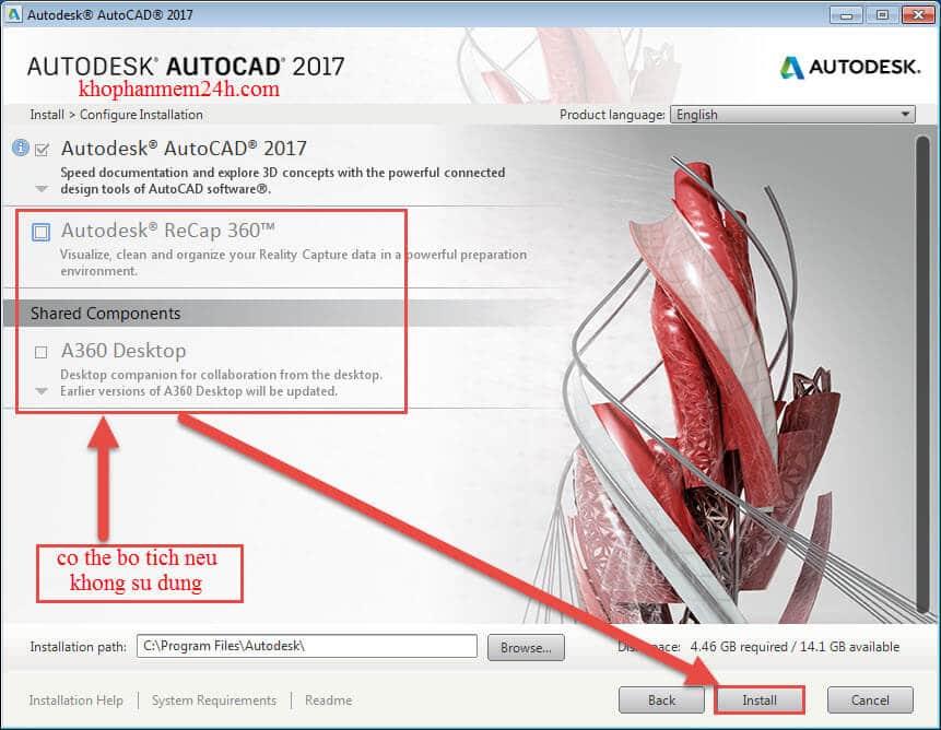 Tải Autocad 2017 Full Crack & Hướng dẫn cài Autocad 2017 6