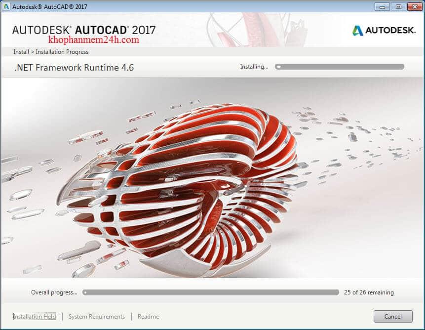 Tải Autocad 2017 Full Crack & Hướng dẫn cài Autocad 2017 7