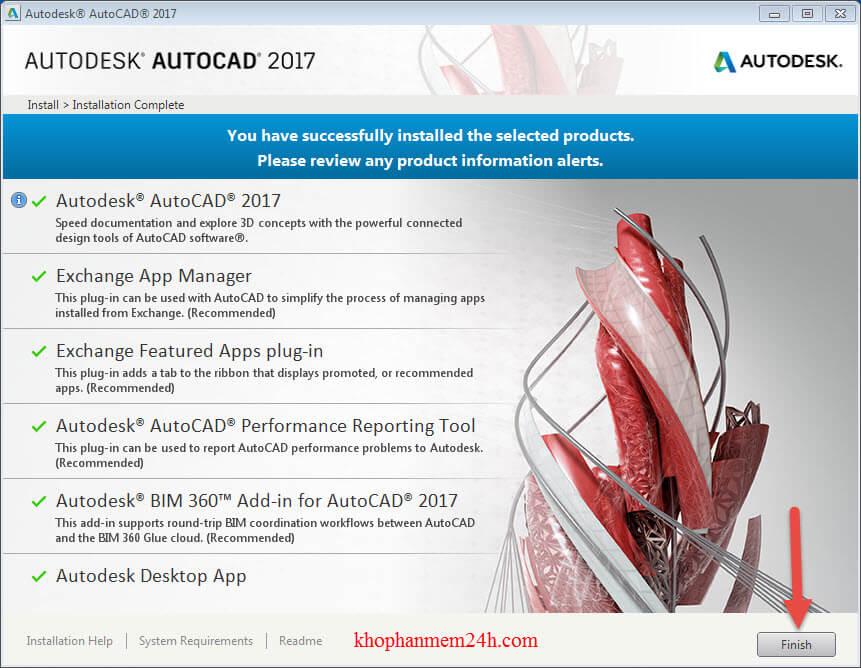 Tải Autocad 2017 Full Crack & Hướng dẫn cài Autocad 2017 8