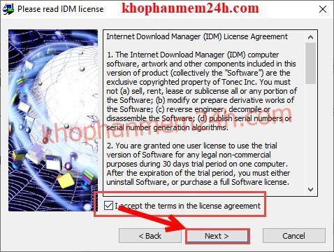 IDM 6.32 build 8 full mới nhất - IDM không bị fake serial 11