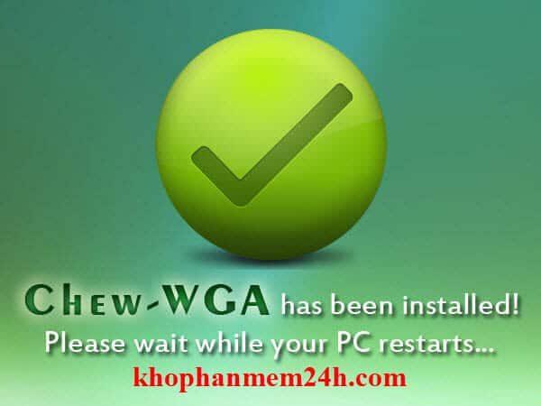 [Working 100%] Download Chew Wga V0.9 Active Win 7 Tốt Nhất