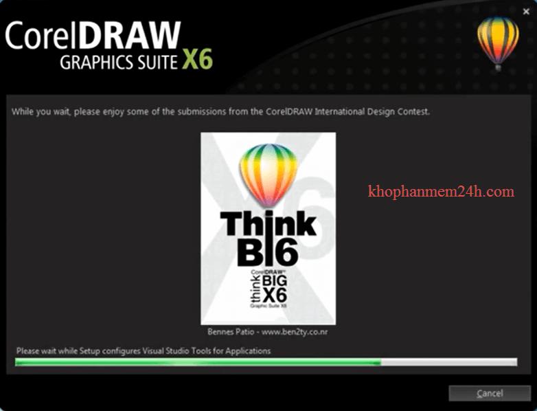 Download CorelDraw X6 Full 32bit&64bit-Hướng dẫn cài đặt Corel X6 9