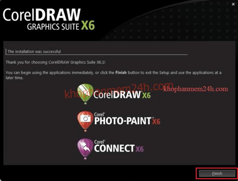 Download CorelDraw X6 Full 32bit&64bit-Hướng dẫn cài đặt Corel X6 10