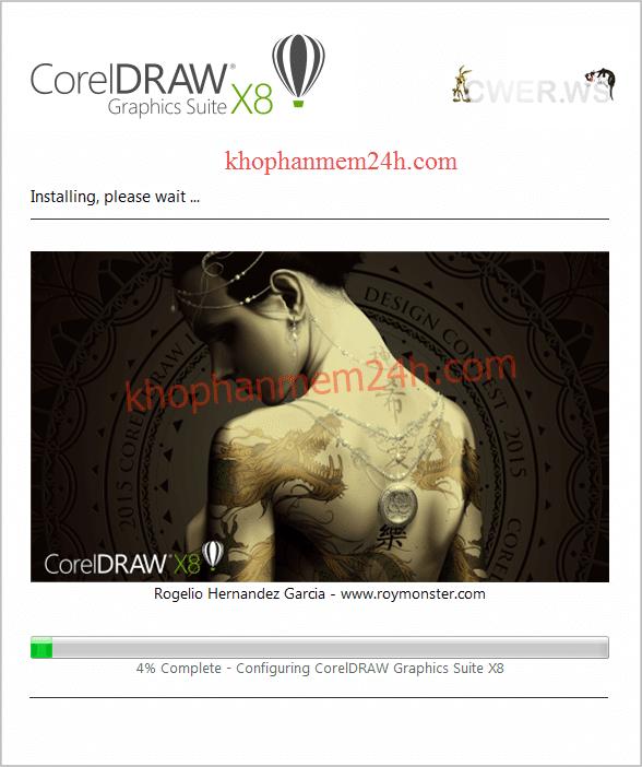 Download CorelDraw X8 Full 32bit & 64bit- Hướng dẫn cài đặt Corel X8 14