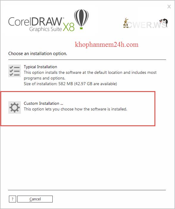 Download CorelDraw X8 Full 32bit & 64bit- Hướng dẫn cài đặt Corel X8 9