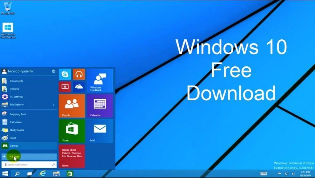 download win 10 64bit iso