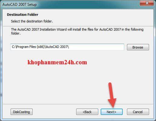 Hướng dẫn tải Autocad 2007 full key kèm cách cài đặt 15