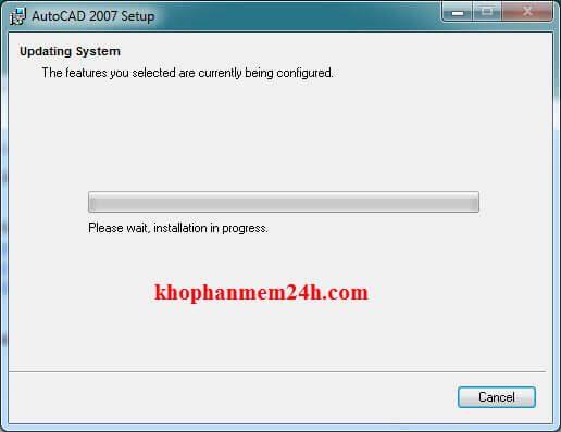 Hướng dẫn tải Autocad 2007 full key kèm cách cài đặt 18