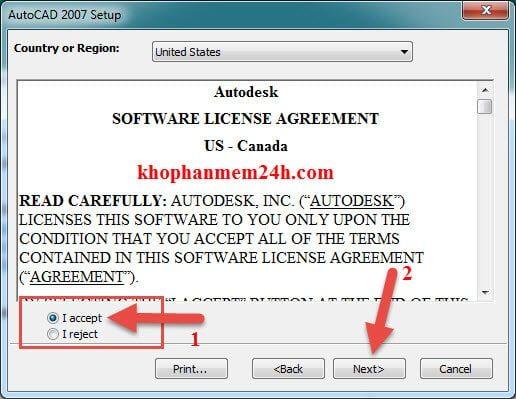 Hướng dẫn tải Autocad 2007 full key kèm cách cài đặt 9