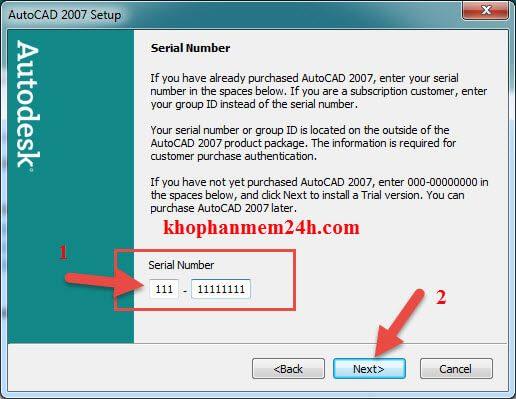 Hướng dẫn tải Autocad 2007 full key kèm cách cài đặt 10