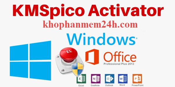 Tải kmspico 10.2.0 – Active win 10 và Office 1 click
