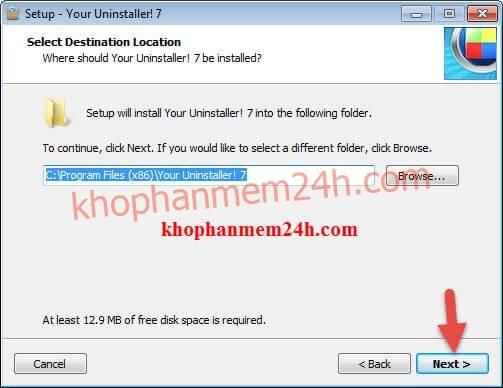 Phần mềm gỡ cài đặt your uninstaller 7.5 full key 2019 5