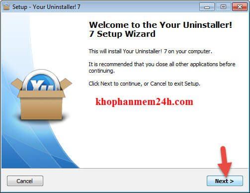 Phần mềm gỡ cài đặt your uninstaller 7.5 full key 2019 4