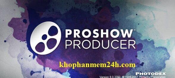 Tải proshow producer 9 full key mới nhất 2019