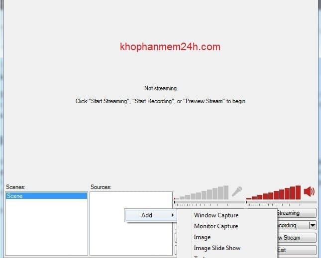 Tải Obs Classic – Fix lỗi quay màn hình aoe bị đen