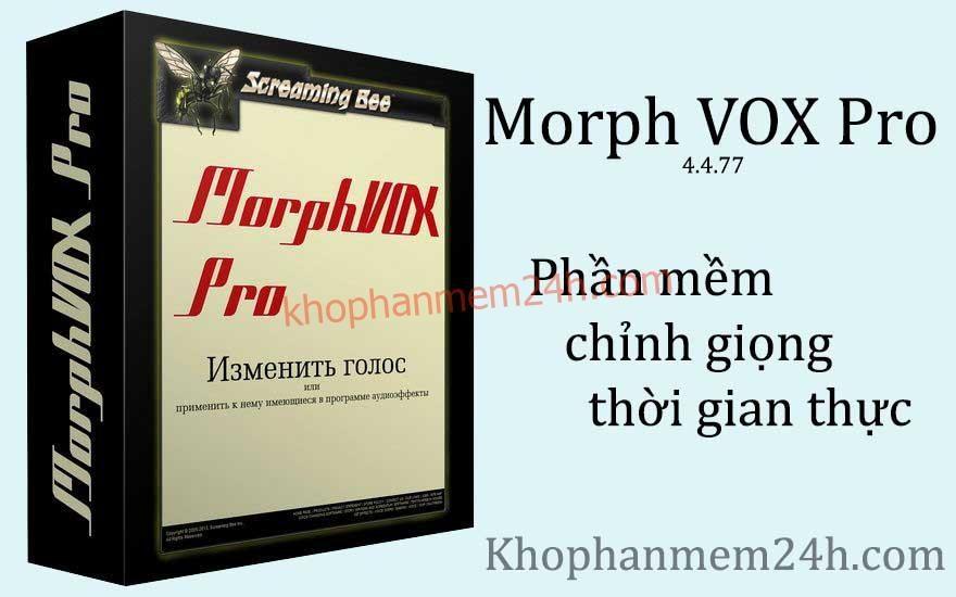 Tải MorphVOX Pro 4.4.77-Phần mềm thay đổi giọng nói thời gian thực 1