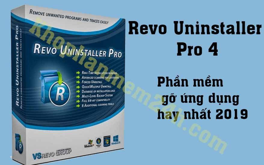 Tải revo uninstaller pro 4 full-Phần mềm gỡ ứng dụng 1
