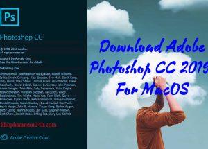 [Link Nhanh] Download Adobe Photoshop CC 2019 Cho Mac OS