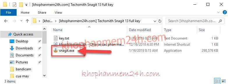 Download Snagit 13 full key để chụp ảnh màn hình 5