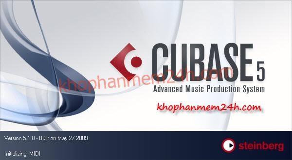 Tải Cubase 5.1 - Phần mềm chỉnh âm thanh chuyên nghiệp 1
