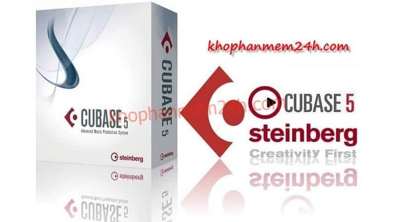 Tải Cubase 5.1 – Phần mềm chỉnh âm thanh chuyên nghiệp