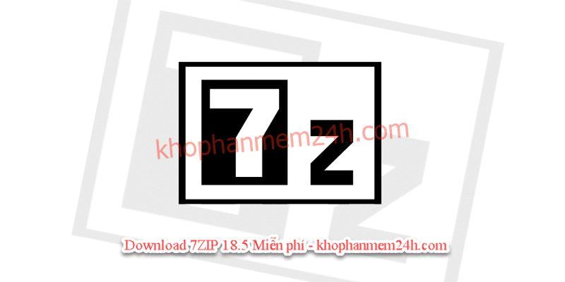 Tải 7Zip 18.5 full-Phần mềm giải nén file miễn phí mới nhất 2019 2