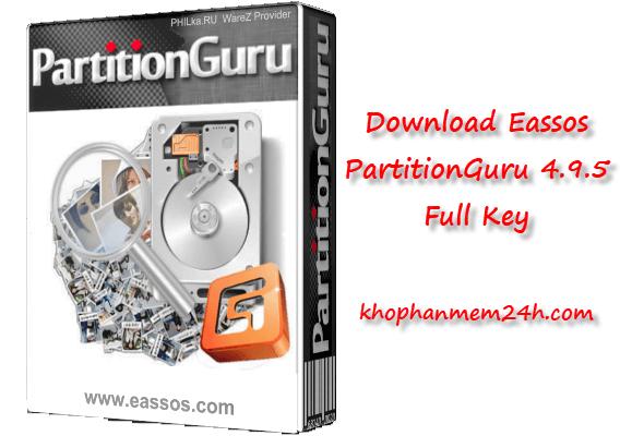 Tải Eassos PartitionGuru Pro 4.9.5 mới nhất – Phần mềm quản lý phân vùng ổ cứng