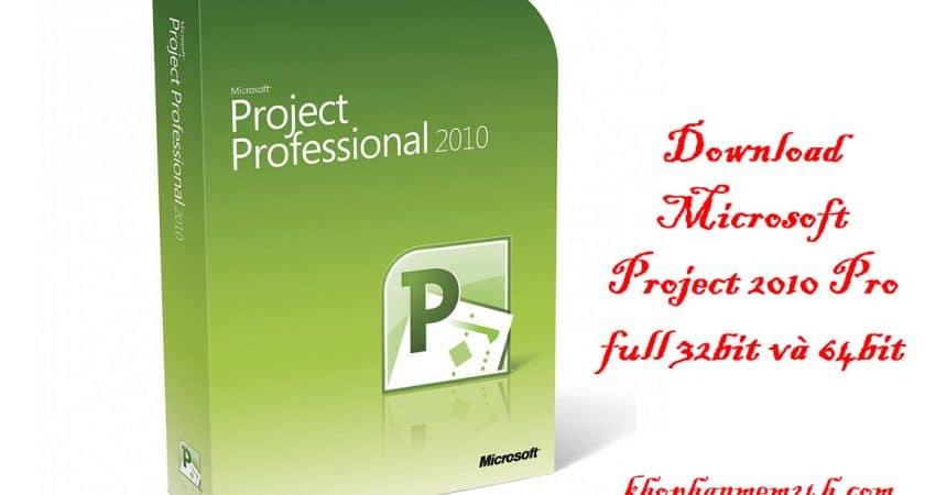 [Link GDrive] Download Microsoft Project 2010 Full Crack 100%