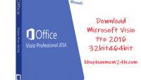 Tải Microsoft Visio 2016 full-Phần mềm vẽ sơ đồ phiên bản 2016