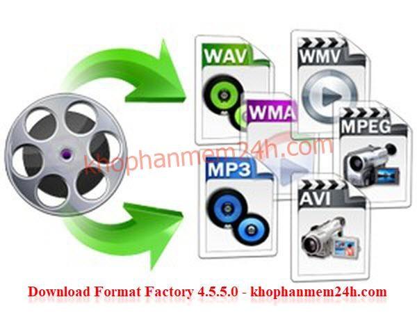 Tải Format Factory 4.5.5.0 mới nhất 2019 - Phần mềm đổi đuôi video 2