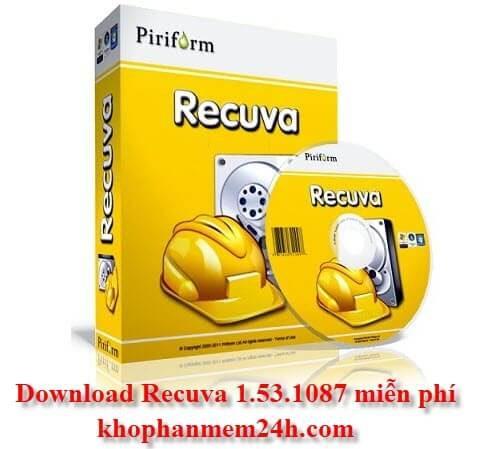 Tải Recuva 1.53.1087 mới nhất - phần mềm khôi phục dữ liệu miễn phí tốt nhất 1