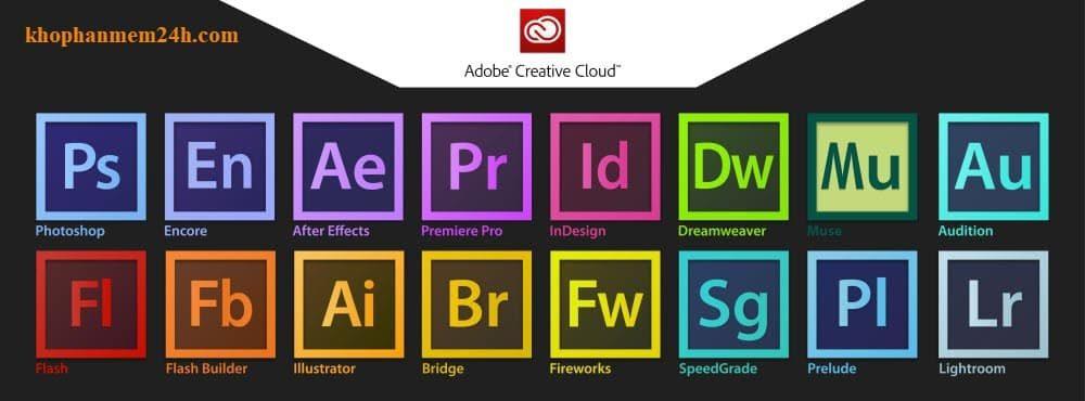 Download tổng hợp bộ cài Adobe CC 2019 mới nhất 1