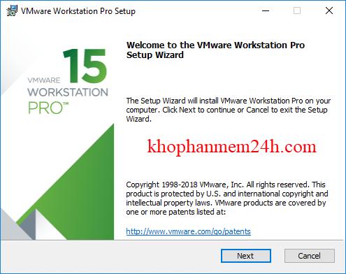 Vmware Workstation 15 Pro Full key - Phần mềm tạo máy ảo tốt nhất 2019 5