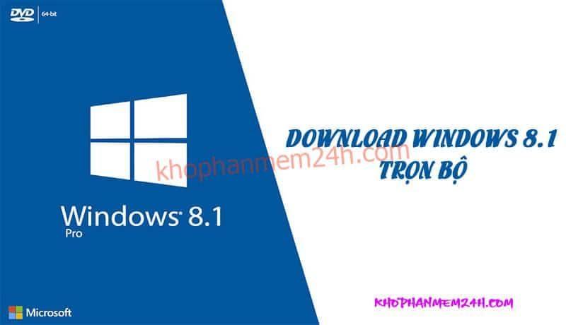 [Link GDrive] Download Win 8.1 Pro 64bit ISO Full Crack
