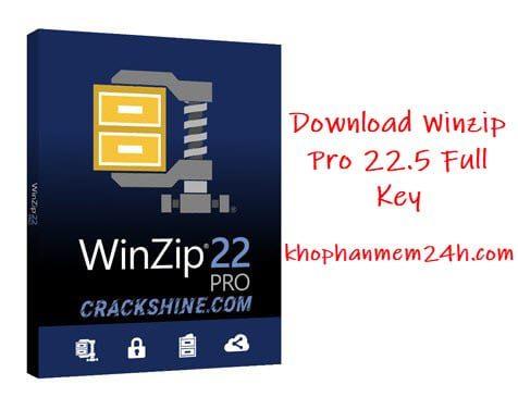 Tải Winzip Pro 22.5 Full Key - Phần mềm giải nén file mạnh mẽ 2