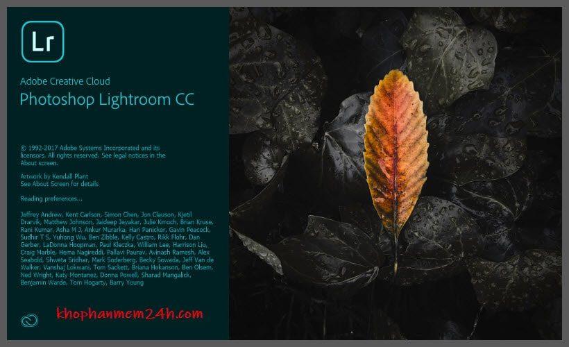 Tải Adobe Lightroom CC 2018 full - Phần mềm xử lý ảnh chuyên nghiệp 1