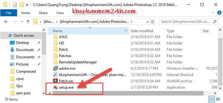 Hướng dẫn tải và cài đặt Photoshop CC 2018 Full 8