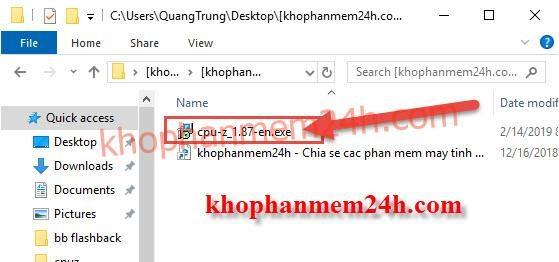 Tải CPU Z 1.87 Free - Phần mềm kiểm tra thông tin phần cứng máy tính chuyên nghiệp 10