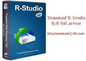 Tải R-Studio 8.9 mới nhất 2019 – Phần mềm khôi phục dữ liệu bị mất