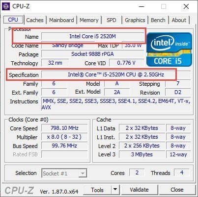 Tải CPU Z 1.87 Free - Phần mềm kiểm tra thông tin phần cứng máy tính chuyên nghiệp 2