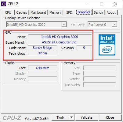Tải CPU Z 1.87 Free - Phần mềm kiểm tra thông tin phần cứng máy tính chuyên nghiệp 6