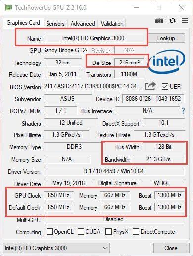 Tải GPU Z 2.16 mới nhất 2019 - Phần mềm kiểm tra card màn hình 6
