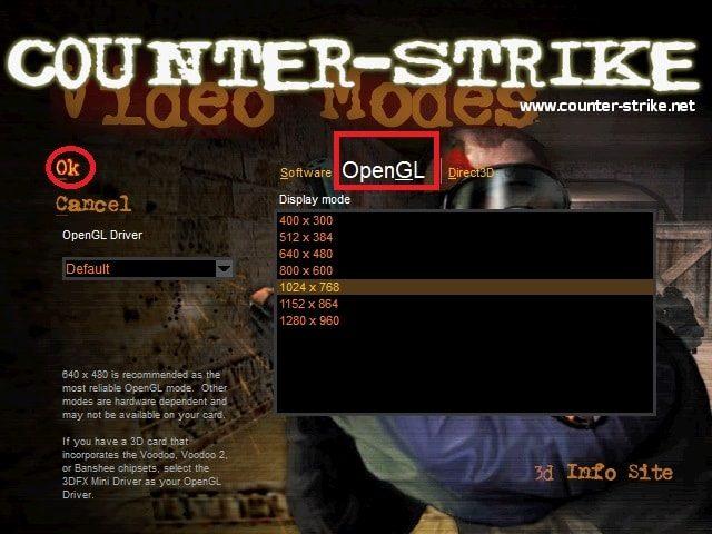 Sửa lỗi để chơi game Half life 1.1 full màn hình trên win 10 & win 8.1 4